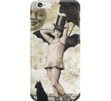 Halloween Moonlight Stroll iPhone Case/Skin