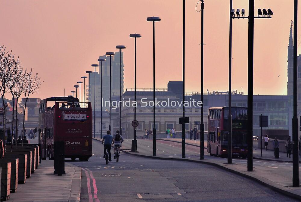 City of London by Ingrida Sokolovaite