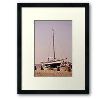 Ships Framed Print
