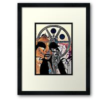 Can you see the real me? Framed Print