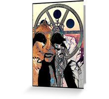 Can you see the real me? Greeting Card