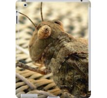 The Wise Ole Grasshopper ~ Seaside  Hopper iPad Case/Skin