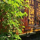 Old Boxcar on siding by ©  Paul W. Faust
