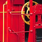 Big Old Red Caboose - detail by ©  Paul W. Faust