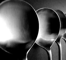 Soup Spoons - Still Life by Victoria limerick