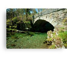 Bridge over Elterwater Canvas Print