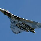 Vulcan XH558 takes to the sky by oindypoind