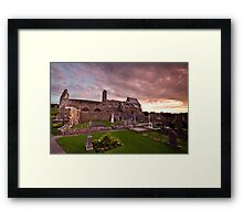 Corcomroe Abbey, Co. Clare Framed Print