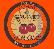 Cherry Bob Omb Fire Cracker Label