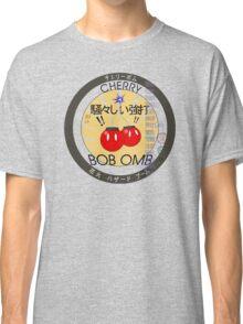 Cherry Bob Omb Fire Cracker Label Classic T-Shirt
