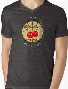 Cherry Bob Omb Fire Cracker Label Mens V-Neck T-Shirt