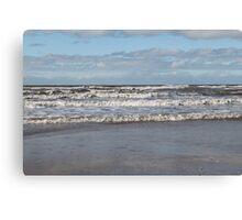 Wave on the irish sea Canvas Print