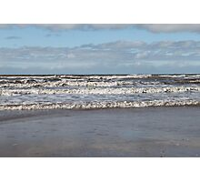 Wave on the irish sea Photographic Print