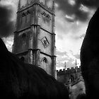 Storm over Church by Niall Lucas