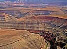 Aerial, Glen Canyon Area, Utah, USA by Margaret  Hyde