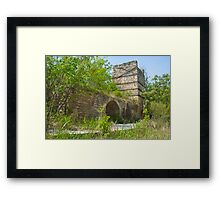 Abandoned Factory Framed Print