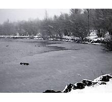 Snowstorm Photographic Print