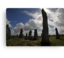 Dark Forces at The Standing Stones  Canvas Print