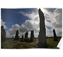 Dark Forces at The Standing Stones  Poster
