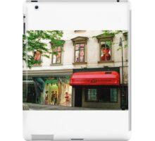 Shop Facade, Vienna, Austria (Panorama) iPad Case/Skin