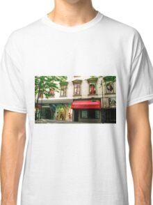 Shop Facade, Vienna, Austria (Panorama) Classic T-Shirt