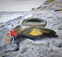 "ANZAC DAY ""LEST WE FORGET""  by gillsart"