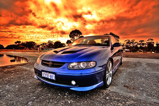 Holden Monaro HDR by Chris Paddick