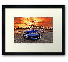 Holden Monaro HDR Framed Print