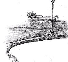 Pondhawk Pond by W. H. Dietrich