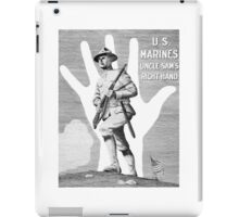 US Marines -- Uncle Sam's Right Hand iPad Case/Skin