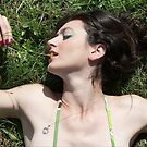 Eating Flowers by Sorcha Whitehorse ©