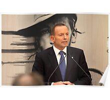 Former Prime Minister Of Australia Tony Abbott Poster