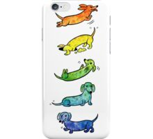 Watercolor Dachshunds iPhone Case/Skin