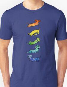 Watercolor Dachshunds Unisex T-Shirt