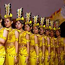 Nine Chinese Dancers by phil decocco