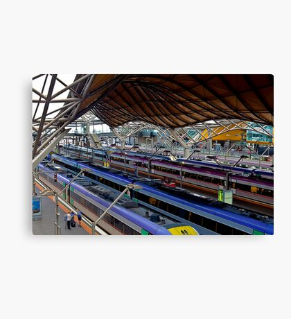 Southern Cross Station Canvas Print