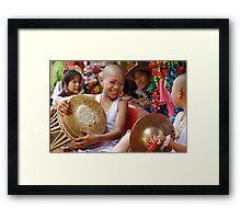 Shan Poy Sang Long festival, Thailand Framed Print