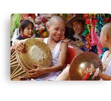 Shan Poy Sang Long festival, Thailand Canvas Print