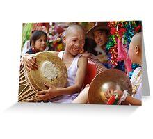 Shan Poy Sang Long festival, Thailand Greeting Card