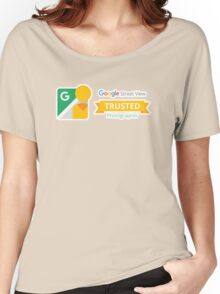 Google Maps | Street View | Trusted Photographer Women's Relaxed Fit T-Shirt