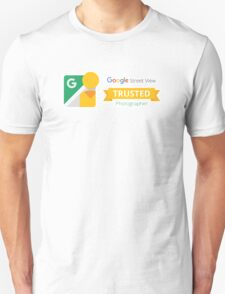 Google Maps | Street View | Trusted Photographer T-Shirt