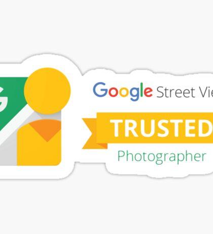 Google Maps | Street View | Trusted Photographer Sticker