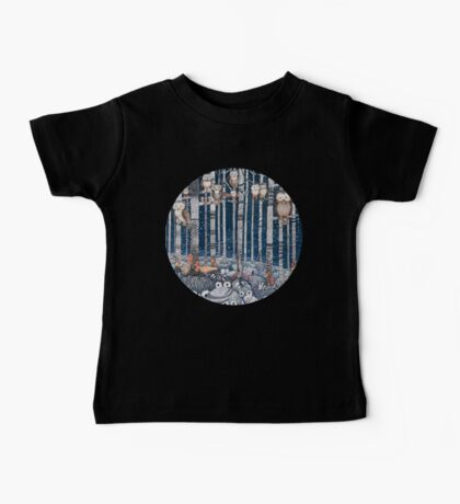 Owl Forest Baby Tee