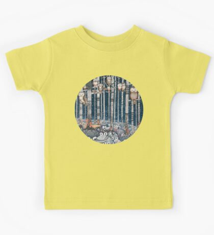 Owl Forest Kids Tee