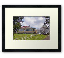 Abandoned Farmhouse,  Tasmania, Australia Framed Print