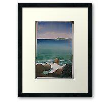 Little Waterloo Bay  (March 2011) Framed Print