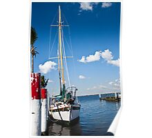 Sailing in Florida Poster