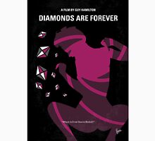 No277-007 My Diamonds Are Forever minimal movie poster Unisex T-Shirt