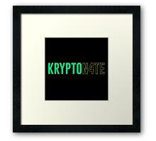 Kryptonate - Nate Robinson Framed Print