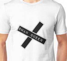 """Swan Queen """"Crossed Reverse"""" Unisex T-Shirt"""